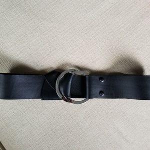 Chicos leather/elastic belt